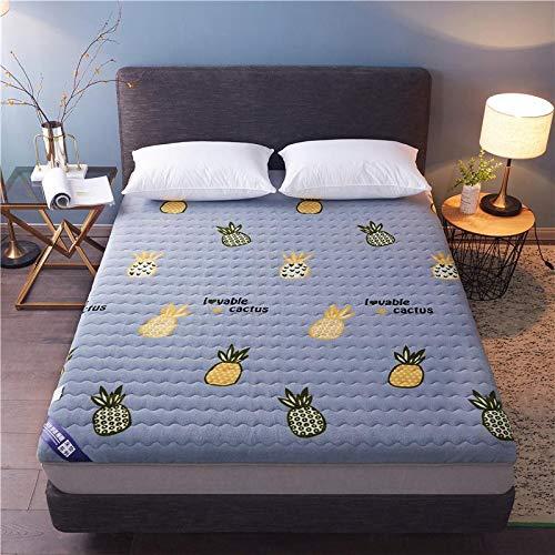 qmj Colchón De Futón Colchones De Suelo Plegables Japoneses Dobles Individuales Estera De Dormir Tatami para Dormitorio Compartido,B-180 * 200cm