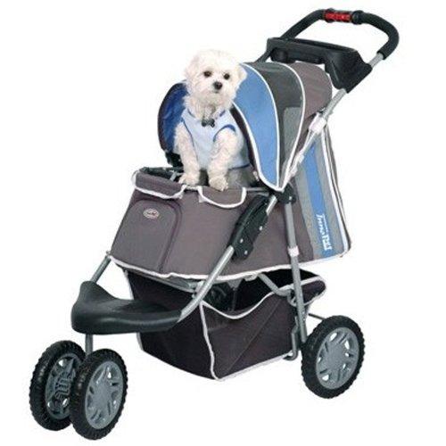 Innopet® cani Buggy Passeggino per Cani Carrello Passeggino per Cani e passeggino Blu Grigio