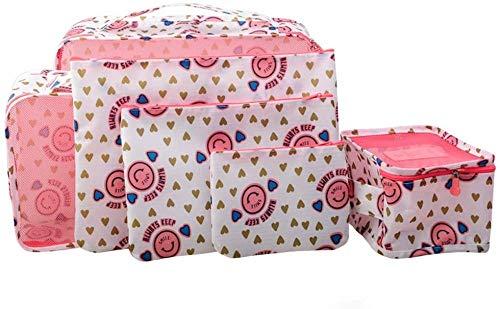 Caja de acabado de gran capacidad creativa Caja de almacenamiento de viajes a domicilio Multifunción Bolsa de almacenamiento Ropa Calcetines impermeable y conveniente para llevar-D