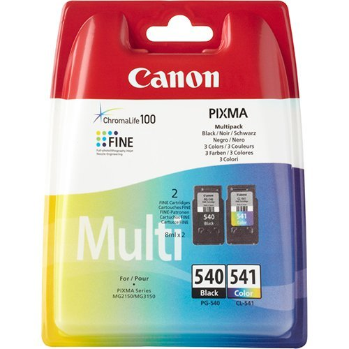 Canon Black & Colour Original Ink Cartridges voor Canon PIXMA MG4250 printer