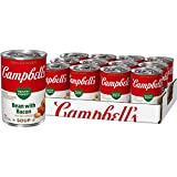 Campbell'sCondensedHealthy RequestBean with Bacon Soup, 11.5 oz. Can (Pack of 12) (Packaging May Vary)