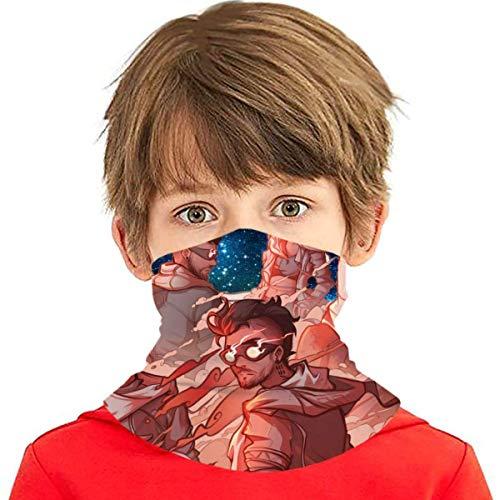 XCNGG Babero de Seda de Hielo Adolescente Starset Pañuelo para la Cara Pañuelo para el Cuello Pañuelo para la Cara Pasamontañas para máscara contra el Polvo Hombres Mujeres Deportes/Bufanda de
