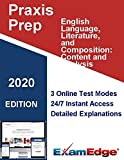 Praxis English Language, Literature, and Composition: Content and Analysis  (5044) Certification Practice tests with detailed explanations. 10-Test Bundle with 920 Unique Test Questions