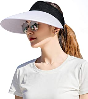 Sunhat Summer mesh hat large sun hat hat solid color big head circumference deepen and heighten hemp material cap