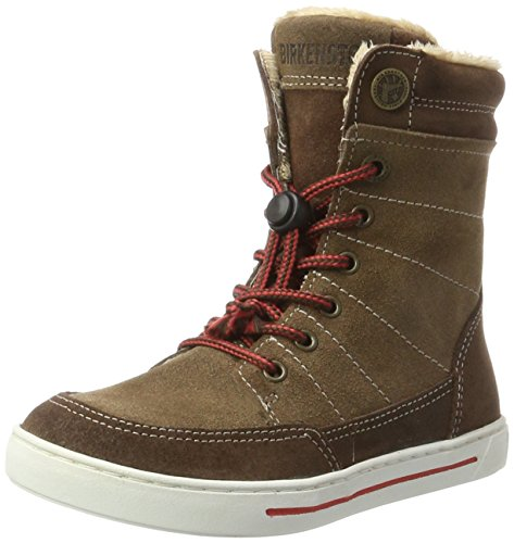 Birkenstock Shoes BIRKENSTOCK Shoes Mädchen Currow Stiefel, Braun (Tabacco), 28 EU