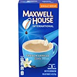 iced coffee french vanilla - Maxwell House International Cafe French Vanilla Latte Instant Coffee (3.4 oz Boxes, Pack of 8)
