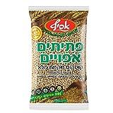 Israelischer Vollcouscous - hergestellt aus 100% Vollkornmehl mit nussigem Geschmack - israelischer Riesencouscous mit Nussgeschmack - vegan - Couscous ohne Zusatzstoffe, 500gr