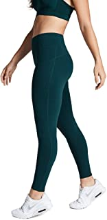 Rockwear Activewear Women's Fl Perforated Pocket Tight Dark Teal 14 from Size 4-18 for Full Length High Bottoms Leggings +...