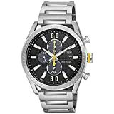 Men's Drive from Citizen CTO Stainless Steel Watch and Black Dial CA0660-54E