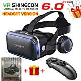 VR Headset Virtual Reality Headset, SHINECON6.0 VR Goggles for TV, Movies & Video Games - 3D VR Glasses Virtual Reality...
