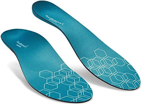 FootBalance QuickFit Balance Insoles | Men's & Women's Orthotic Inserts | Custom Heat Moldable for Sports Shoes and Arch Support (43-44)