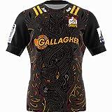 HQSG Maillot de rugby pour homme - Maillot de rugby 2020 des chefs - Crusader Blues Hurricane Highlanders - Maillot de rugby confortable - T-shirt de sport (S-5XL) - Rare-XXXXL