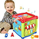 Early Learning Educational Music and Colorful Shape Sorter Toys Baby Toys 12-18 Month