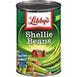 Libby's Shellie Beans | Cut Green Beans And Pinto Beans| Classically Delicious, Mild & Subtly Sweet | Crisp-Tender Bite | No Preservatives | Kosher | 14.5 ounce can (Pack of 24)