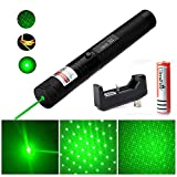 Chase Cat Toy, Rechargeable Multi Pattern Funny Mini Flashlight Interactive Light Entertain and Train Your Cat Kitten Dog Pet
