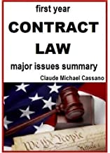 first year CONTRACT LAW - major issues summary