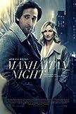 MANHATTAN NIGHT – Adrien Brody – US Imported Movie Wall