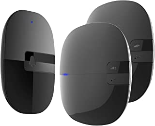 Mopoq Wireless Doorbell, Weatherproof, Electric, Adjustable, With 2 Receivers And 1 Transmitter 36 Melodies