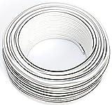 Cable para Altavoz (2 x 1,50 mm2) 1,50mm2-25m Blanco