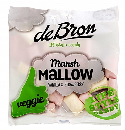 De Bron, vegetarische Marshmallows, 1er Pack, (1x 75g)