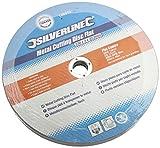 Silverline 186810 Metal Cutting Discs Flat, 230 x 3 x 22.2 mm - Pack of 5