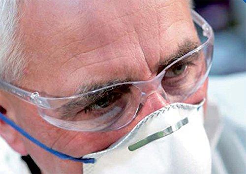 Kimberly 040454Jackson Safety V30NEMESIS gafas de seguridad–lentes ámbar ✅