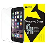 Glass Screen Protector- iPhone 6 plus, iPhone 6s plus Screen Protector, Tempered Glass