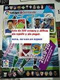 LIGAESTE Lote (Álbum + 200 cromos) Liga Este 2019 2020