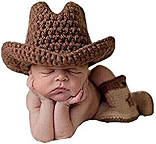 Best crochet infant cowboy hat and boots Reviews