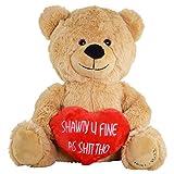Hollabears Shawty U Fine As Shit THO Teddy Bear - Funny and Cute for...
