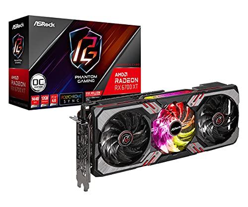 Asrock Phantom Gaming RX 6700 XT 12GB OC AMD Radeon RX 6700 XT GDDR6