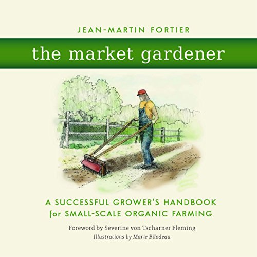 The Market Gardener audiobook cover art