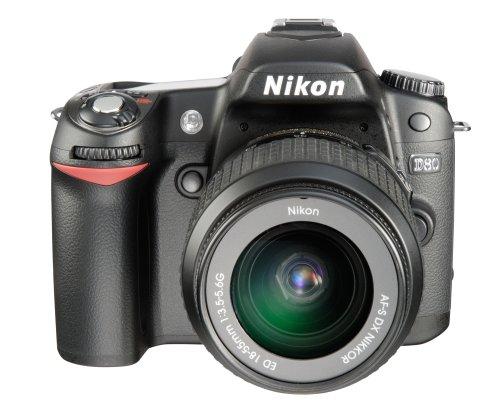 Nikon D80 - Cámara réflex Digital (10 megapíxeles, Incluye Objetivo VR de...
