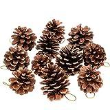 Yamiko クリスマス ツリー リース 飾り 松ぼっくり 6個セット