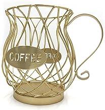 SKGOFGODcw Home Storage Bins Universal Coffee Capsule Storage Basket Vintage Coffee Pod Organizer Holder Coffee Cup Basket...