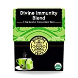 Buddha Teas Organic Divine Immunity Blend Tea | 18 Bleach-Free Tea Bags | Antiviral Properties with...