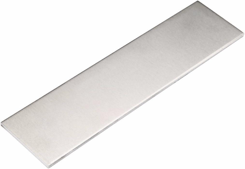 1 barra de 3 mm de grosor de hoja plana 6061 de corte de aluminio, placa de 200 x 50 x 3 mm con resistencia al desgaste