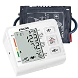 ANKOVO Blood Pressure Monitor Upper Arm Automatic Digital Blood Pressure Machine with Adjustable Cuff and Large Screen Blood Pressure Kit for Home Use