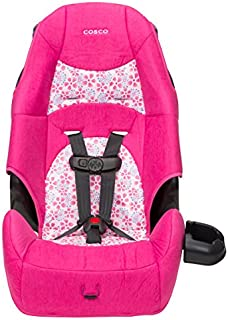 Cosco – Highback 2-in-1 Booster Car Seat – 5-Point Harness or Belt-positioning – Machine Washable Fabric , Ava
