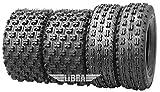 Set 4 Wanda Race ATV tires 22x7-10 & 22x10-9 fit for 2004 Honda Sportrax 250EX 300EX