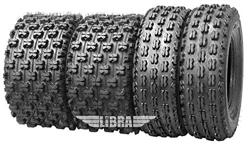 Set 4 WANDA GNCC Racing Tires 21x7-10 & 20x10-9 fit for Yamaha Raptor 350 660 700