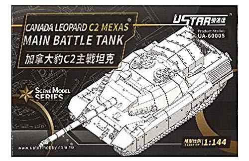 ユースターホビー 1/144 タンクシリーズ カナダ軍 レオパルド C2メクサス 主力戦車 プラモデル UA-60005