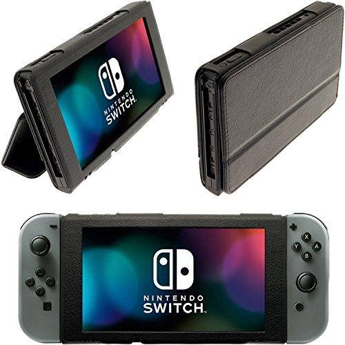 iGadgitz U6581 - Portafolio PU Cuero Funda Carcasa & Protector de Pantalla - Compatible con Nintendo...