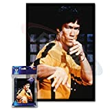 (120) Max Protection Bruce Lee Small Gaming Card Protector Sleeves for Yu-Gi-Oh!...