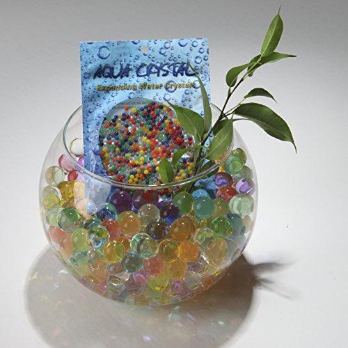 Aqua Crystal' Expanding Water Storing Gel Bead Crystals - Clear - 20g Bag