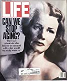 Life October 1992 Can We Stop Aging? The Horrors of Bosnia, Jack Lemmon, Gypsies in America, an Ancient and Secretive People, Artists Jim Gurney and Lynn Butler