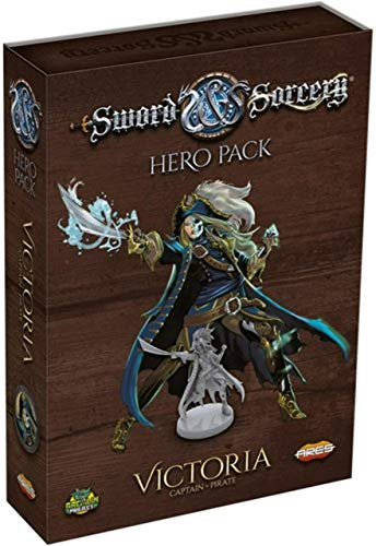 Ares Games Sword & Sorcery Victoria Hero Pack - English
