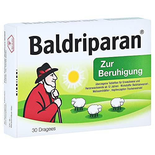 Baldriparan Dragees zur Beruhigung, 30 St. Tabletten