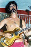 Frank Zappa Bare Chested With Guitar Color Mini-Poster, 28
