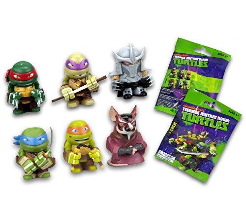 Nickelodeon 12 STK. Blindbag Teenage Mutant Ninja Turtles Sammel Figuren 4cm
